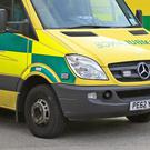 An ambulance driver was killed in the crash