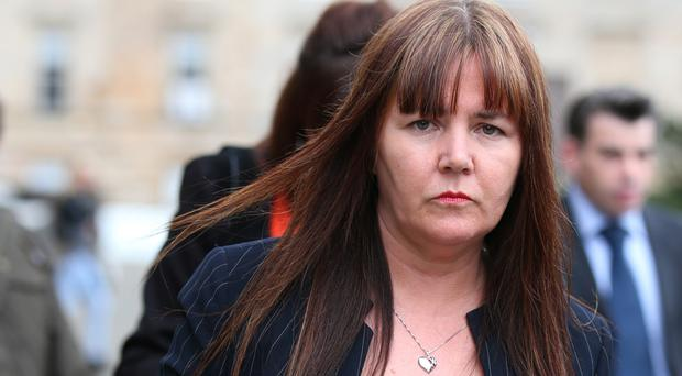 Patricia McLeish claims a Labour MP kicked her on Scottish independence referendum day in 2014