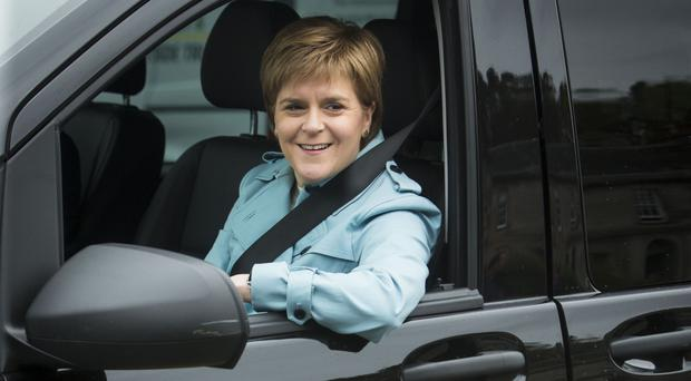 First Minister Nicola Sturgeon wants independence for Scotland