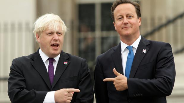 David Cameron has admitted he is not quite so close to Boris Johnson as he was previously