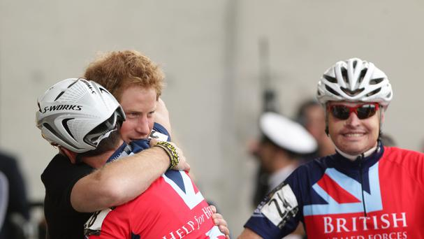 Harry is the driving force behind the Invictus Games