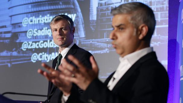 Zac Goldsmith and Sadiq Khan are seen as the two frontrunners