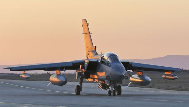 RAF strikes have put Daesh on the back foot