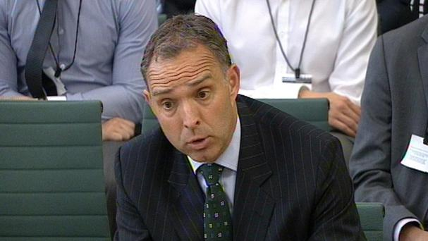 Home Office permanent secretary Mark Sedwill appearing in front of the Home Affairs Select Committee