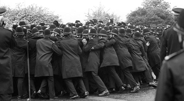 The bitter dispute at Orgreave resulted in dozens of injuries on both sides