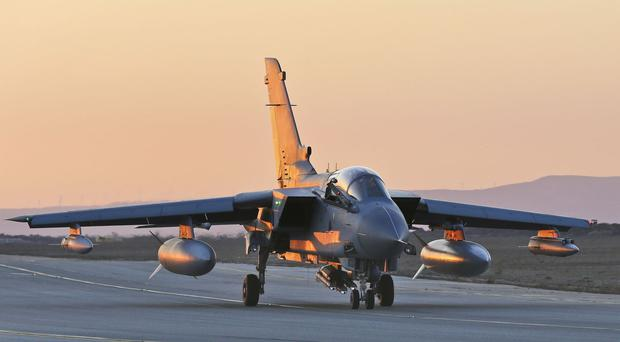 RAF strikes have put Daesh on the back foot.