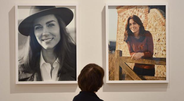 The Duchess of Cambridge's day of engagements includes a visit to the National Portrait Gallery