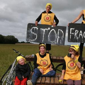 Attempts to frack have met with protest across the UK