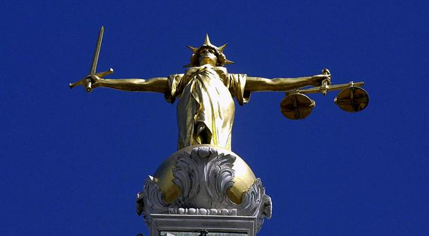 A man threatened to cut off his partner's breast with a knife and also tried to choke her with a telephone cord as part of a terrifying series of domestic assaults, a court has been told