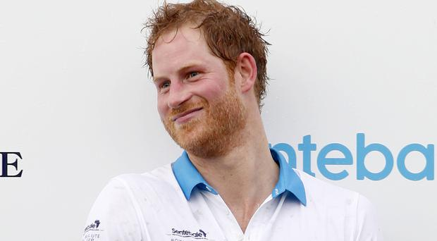 Prince Harry after taking part in the Sentebale Royal Salute Polo Cup in Florida