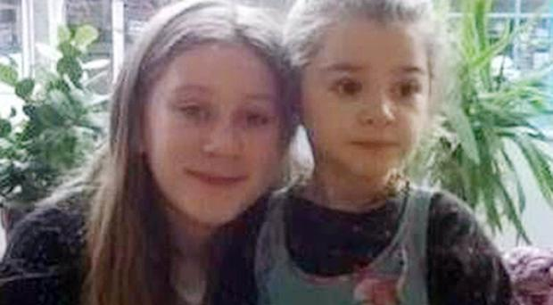 Police are looking for Angela Kelly and her daughters Shanti, 12, and Maya-Rose, five, (Metropolitan Police/PA)