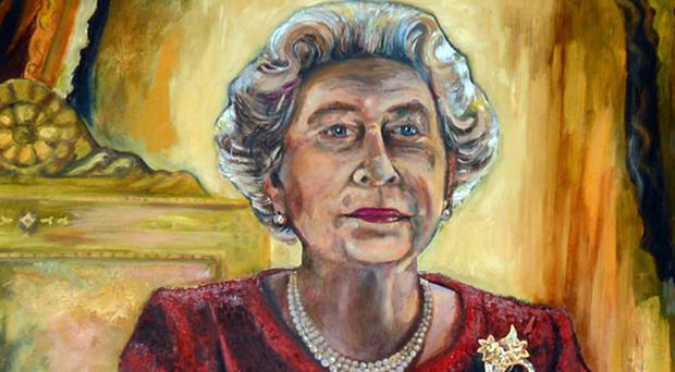 Dan Llywelyn Hall's expressionist-style painting of the Queen generated strong views