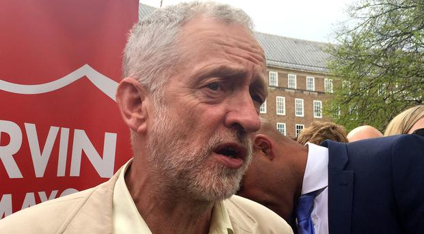 Labour Party leader Jeremy Corbyn is expected to address Labour MPs