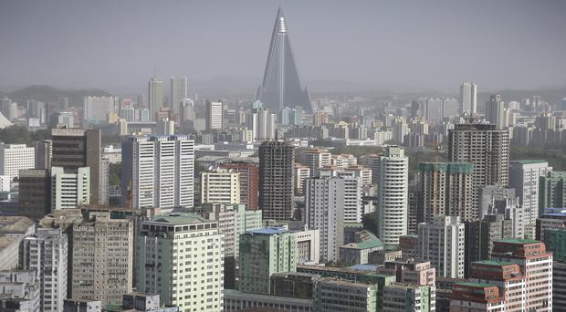 The BBC crew was in Pyongyang ahead of the Workers Party Congress (AP)