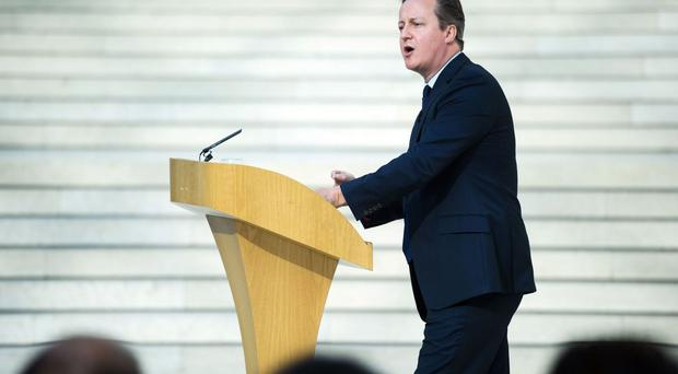 David Cameron insisted there is