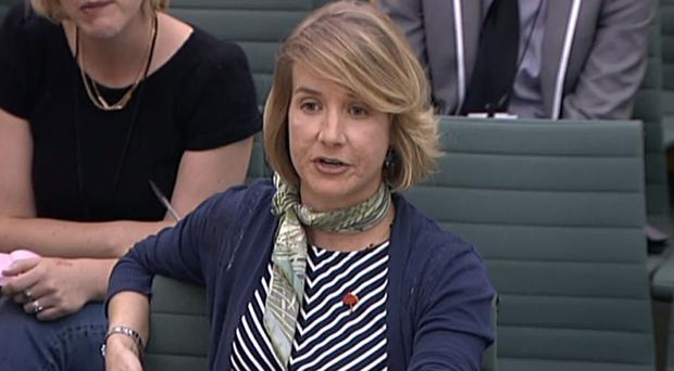Dr Brooke Magnanti gives evidence to the committee