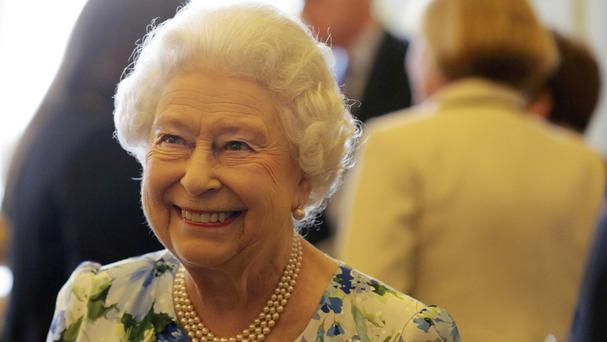 The remarks were recorded as the Queen greeted guests in the gardens of Buckingham Palace for an event marking her 90th birthday