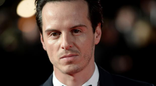 Andrew Scott shot to fame as Moriarty in the hit BBC adaptation of Sherlock