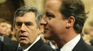 Gordon Brown has told David Cameron to