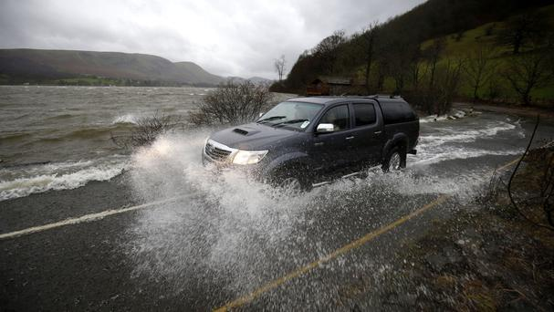 Cumbria was badly hit by the floods