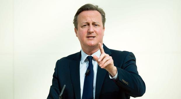 Downing Street said David Cameron was referring to reports that Sulaiman Ghani supports 'an' Islamic state