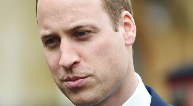 The Duke of Cambridge said men should discuss issues and stop 'feeling so strong' to try to combat male suicide rates
