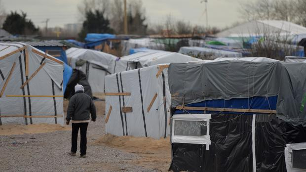 One of the Alwadis' teenage children is in a Calais camp