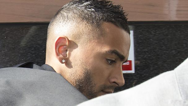 Leicester City footballer Danny Simpson was found guilty of throttling Stephanie Ward