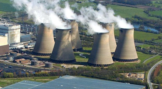 Drax power station has partially switched to burning biomass