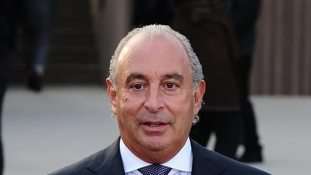 Sir Philip Green is the owner of Topshop