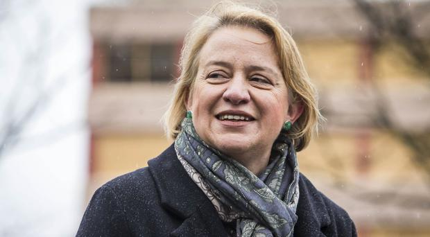 Green Party leader Natalie Bennett who has said she is going to stand down in the summer after four years at the helm of the party