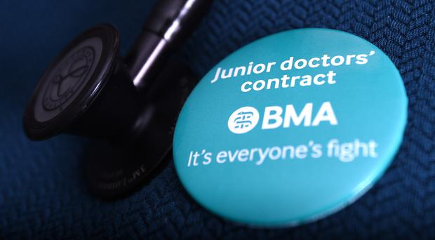 Junior doctors are in dispute over their new contract