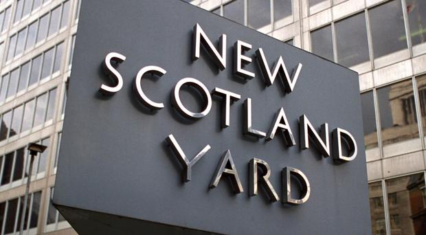 Two men were arrested in London during the raids
