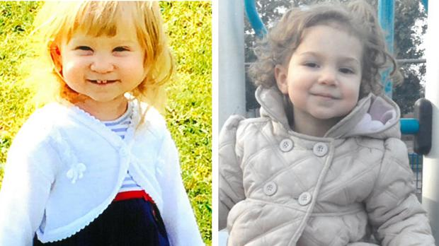 Jasmine Weaver, left, and Evelyn Lupidi were killed by their mother Samira Lupidi (West Yorkshire Police/PA Wire)