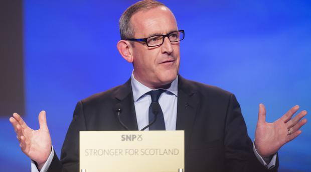 SNP deputy leader Stewart Hosie is alleged to have had a relationship with journalist Serena Cowdy