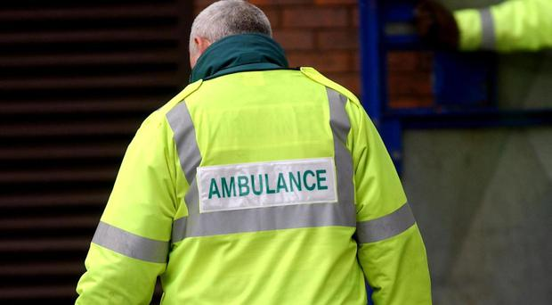 Paramedics attended the incident at the Blyth park