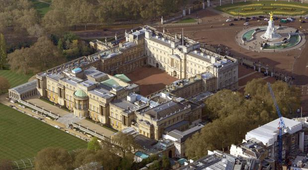 A man has been arrested at Buckingham Palace