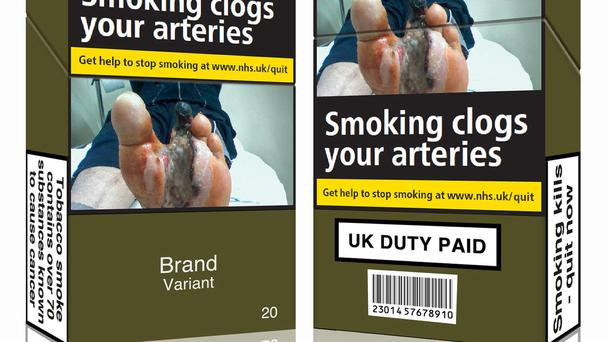 Standardised packaging for cigarettes (Action on Smoking and Health/PA)