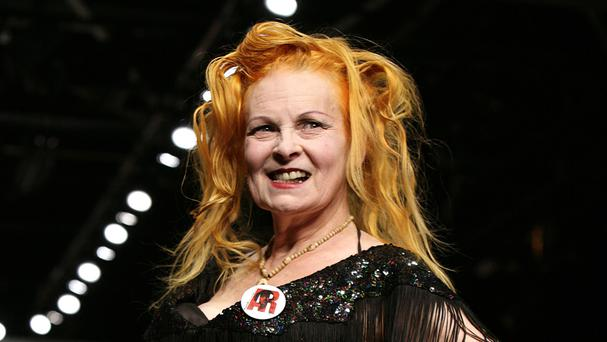 Vivienne Westwood has lent her support to the anti-fracking campaign