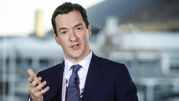 Chancellor George Osborne said house prices would take a hit of as much as 18% if Britain leaves the EU