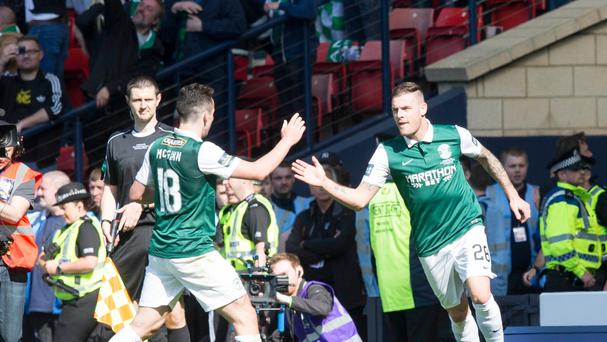 Hibs emerged victorious at Hampden