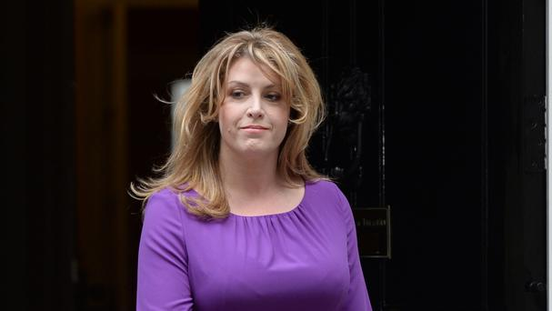 Armed forces minister Penny Mordaunt