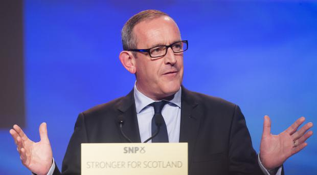 Stewart Hosie quit his role as deputy leader