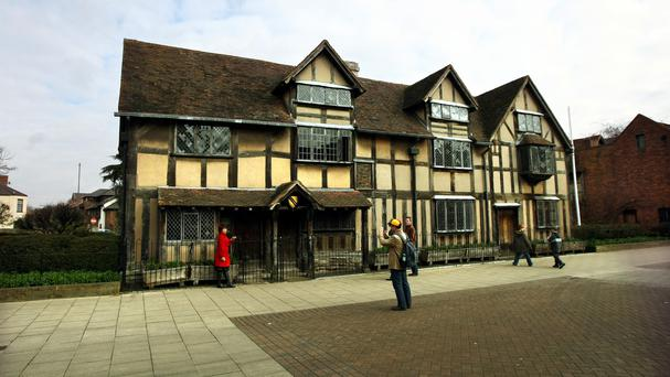 Shakespeare's birthplace of Stratford-upon-Avon in Warwickshire, a county rated as one of Europe's top places to visit this summer