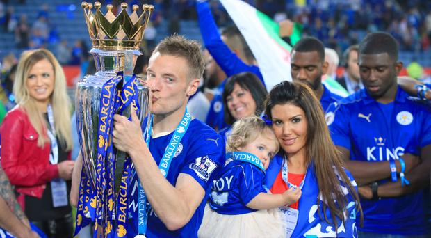 Jamie Vardy is set to marry Rebekah Nicholson