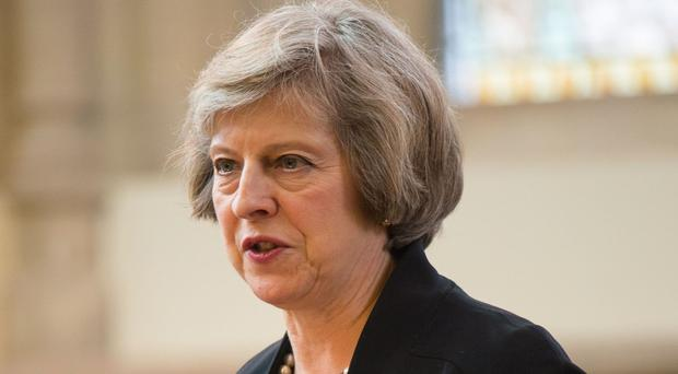 Home Secretary Theresa May said the inquiry into Sharia law is under way