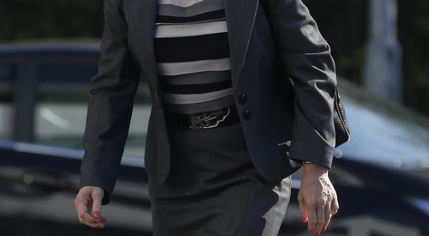 Former Northumbria Police legal head Denise Aubrey was accused breaching confidentiality over alleged affairs