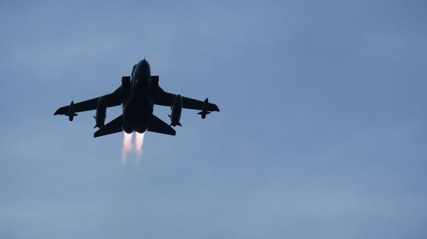 A Tornado jet, as it was revealed the RAF was ready to act if it emerged there was a