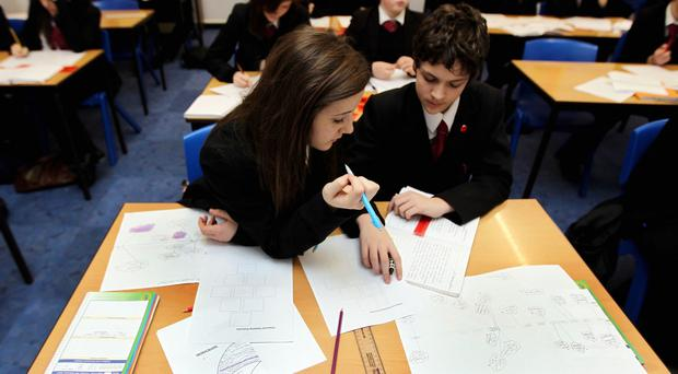 More young people are achieving at least five good GCSEs than five years ago, official figures have revealed