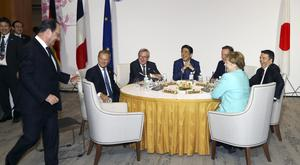 David Cameron is attending the G7 summit